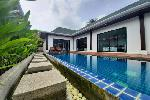 Two Bedroom Pool Villa with Separate Building for Five Rented Rooms for sale in Rawai