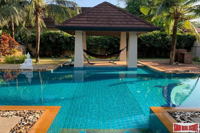 Four Bedroom Pool Villa with 12