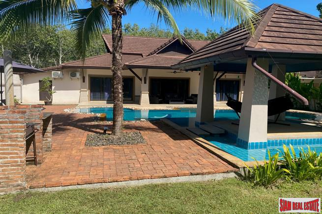 Four Bedroom Pool Villa with 9