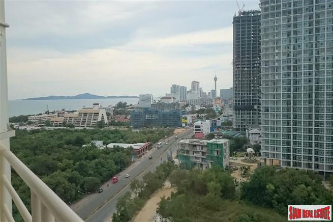 Jomtien Beach Condo | Two Bedroom Jomtien Condo for Sale with Fabulous Sea & City Views