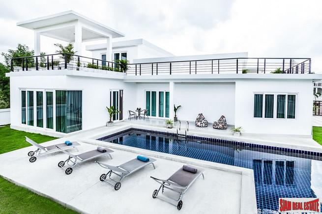 Luxurious Five Bedroom Pool Villas in New Na Jomtien Development