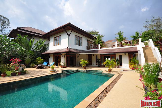 Baan Prangthong | Immaculate Peaceful Three Bedroom with Pool and Lush Gardens for Sale in Chalong
