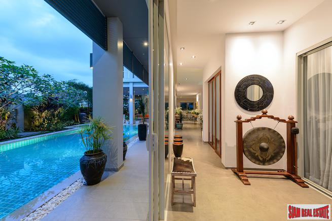 Private and Spacious Pool Villa in for Rent in Cherng Talay, Phuket