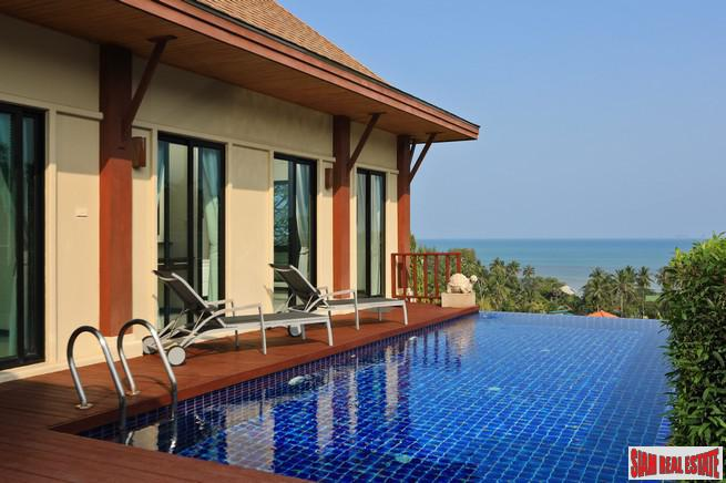 Ao Yon Two Villas Village | Luxury Three Bedroom Private Pool Villa for Rent with Panoramic Sea Views