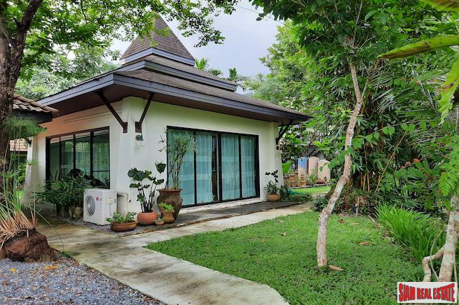 Large Private Six Bedroom Home for Sale Located in a Tropical Ao Nang Green Zone