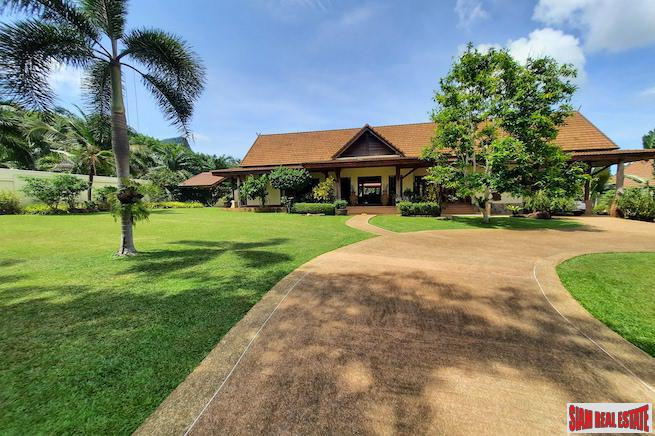Private Luxury Plantation-Style Four Bedroom Villa with Pool and Separate Guest Suite for Sale in Ao Nang