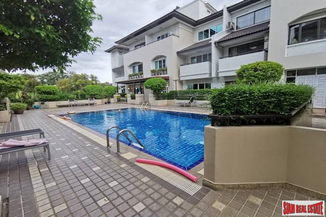 Baan Charoenmitr | Large Family Style Three Bedroom Townhouse for Sale on Quiet Ekkamai Alley