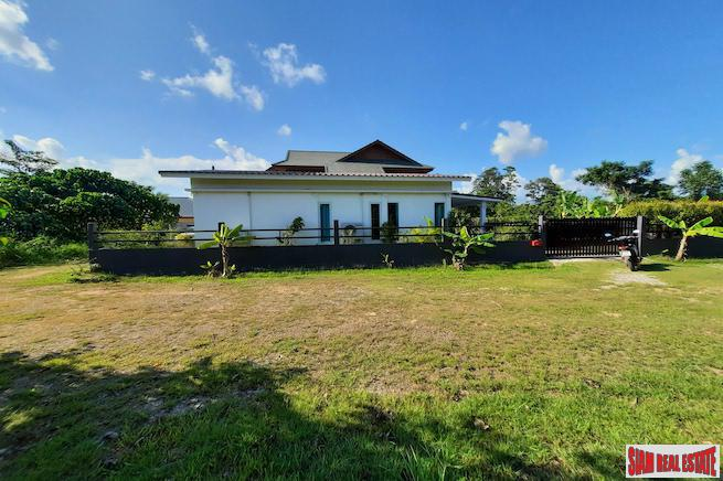Cozy Two Bedroom House on One Rai of Land in the Quiet Community of Ao Nang