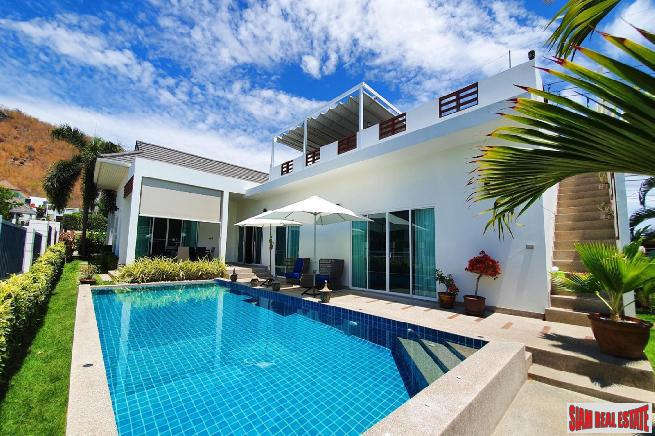 3 Bed Private Pool Villa with Roof Terrace For Sale in Secure Estate at South Hua Hin