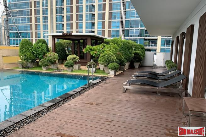 Baan Siri Ruedee | Large Three Bedroom for Rent on Top 8th Floor and 250 m. to BTS Phloen Chit