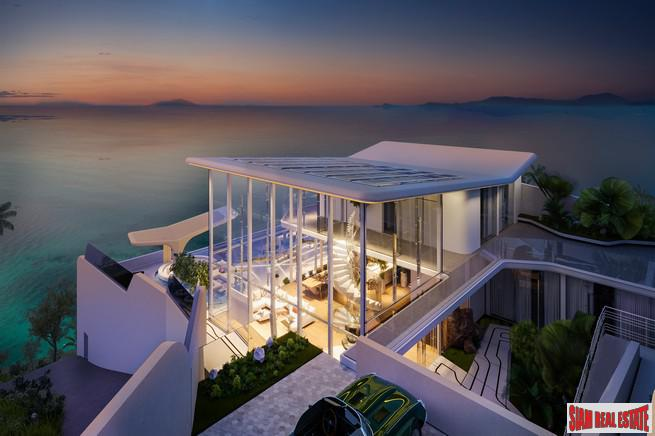 Dramatic, Unique & Luxurious 5+ Bedroom Sea View House for Sale in Ban Harn, Samui