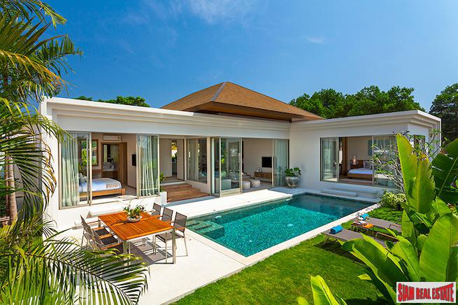 Private Single Storey Pool Villa with Tropical Gardens for Sale in Desirable Phuket West Coast