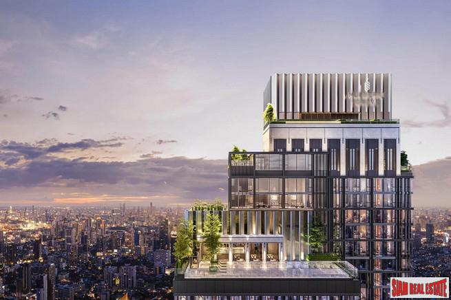 New Ultra Luxury High-Rise on Sukhumvit Road close to BTS Ekkamai - 2 Bed Units