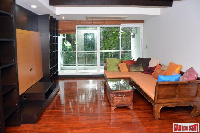 Supreme Elegance | Beautiful 2 Bed Condo with Big Balcony for Sale in Low-Rise Boutique Building at Nanglinchi Road, Sathorn