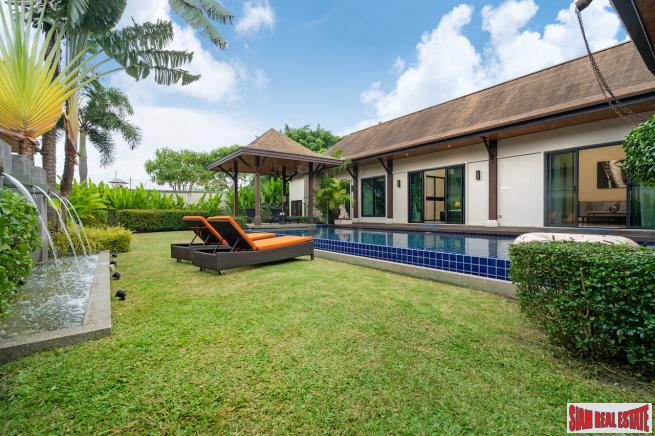 Kokyang Estate | Spacious Three Bedroom Villa in a Gated Community only 1.5 km From Nai Harn Beach