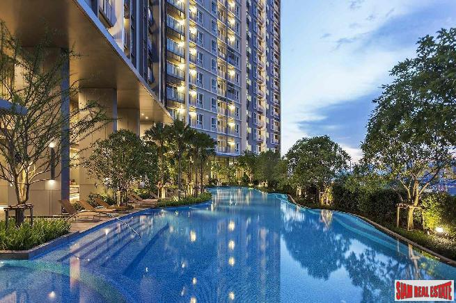 The Key Sathorn-Charoenraj | Large 2 Bed Combined Unit with 3 Balconies and City View at Sathorn