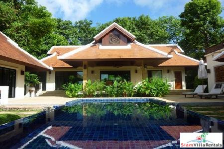 Baan Bua | Nai Harn Three Bedroom Pool Villa for Holiday Rental