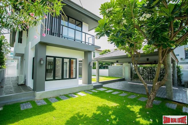 Private Nirvana | Bright Cheerful and Private Two Storey, Four Bedroom House with Garden for Sale in Lat Phrao