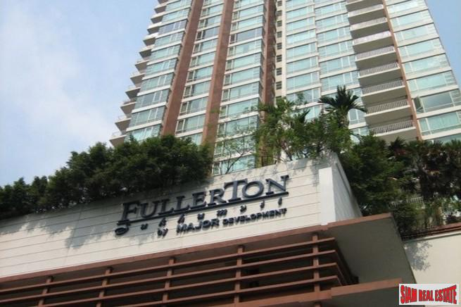 Fullerton Sukhumvit | Three Bedroom Penthouse for Sale with Clear City and Chao Phraya River Views - Pet Friendly Building