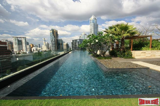 Prive by Sansiri | Luxury 3 Bed Corner Unit Condo on the 11th Floor at Wireless Road, Lumphini Park