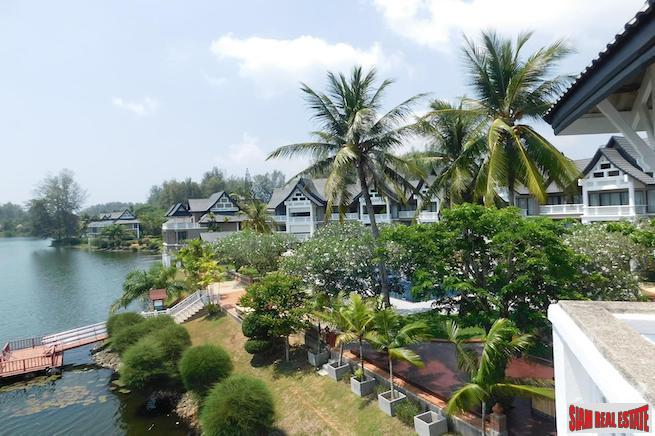 Allamanda 1 | Three Storey / Two Bedroom Duplex Apartment for Sale with Excellent Laguna Lagoon Views