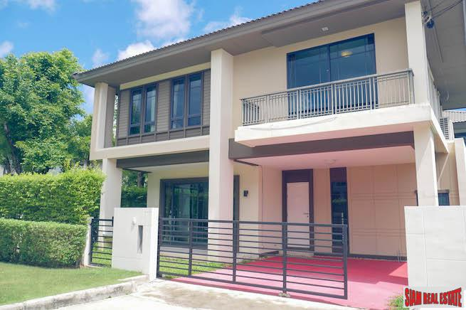 Burasiri Koh Kaew | Three Bedroom Family Home with Extra Living Space for Sale in a Safe and Peaceful Neighborhood