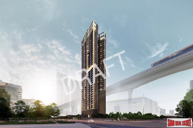 Pre-Launch of Luxury New High-Rise Condo Next to Union Mall and BTS Ha Yaek Ladprao Interchange Station - 1 Bed Plus Units