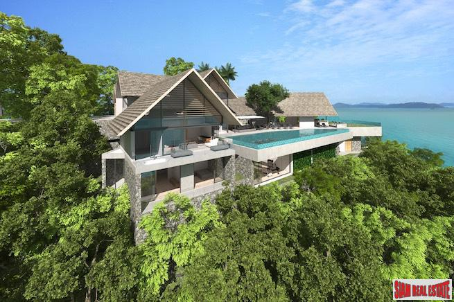 Exclusive Luxury Ocean Front Villas for Sale in a Panoramic Private Cape Yamu Estate