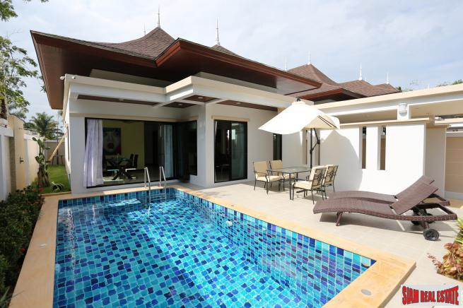 Modern Tropical Two Bedroom Private Pool Villa for Sale in Ao Nang, Krabi