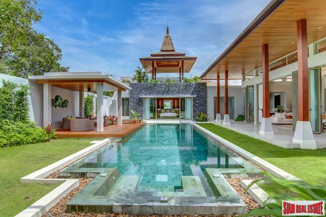 Luxury and Extravagant Living in These 4 & 5 Bedroom Private Pool Villas - 1 Km to Bang Tao Beach