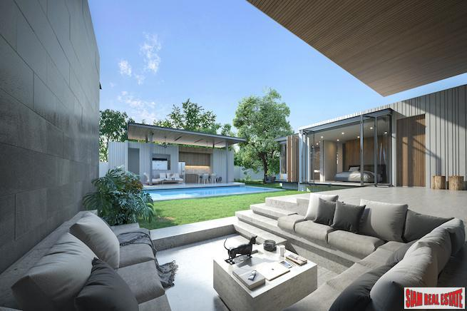 Privileged Private 3 to 4 Bedroom Pool Villas for Sale in the Hills of Bang Tao
