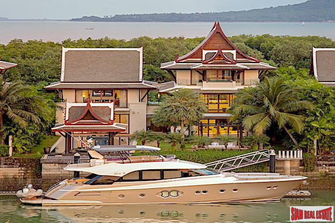 The Waterfront Royal Villas | Five Bedroom Luxury House with 23m Private Boat Berth for Sale