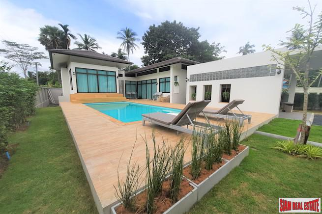 Bright and Open New Three Bedroom Home for Sale in Nong Thaley, Krabi