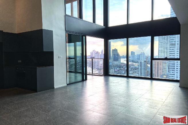The Lofts Silom | Luxury 2 Bed Duplex Condo by Raimon Land at Silom, River View - 25% Discount!