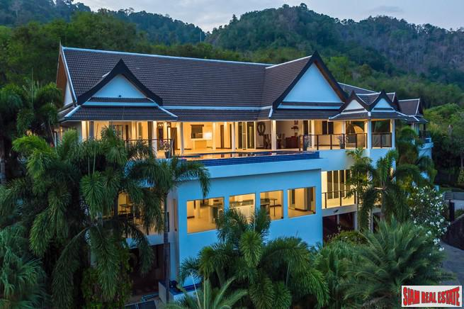 Baan Sawan | Seven Bedroom Pool Villa with the most Exceptional Sea Views of all Rawai
