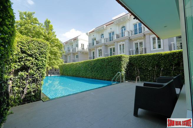 New Modern Three Bedroom Townhouse  for Rent in the Heart of Sukhumvit 16