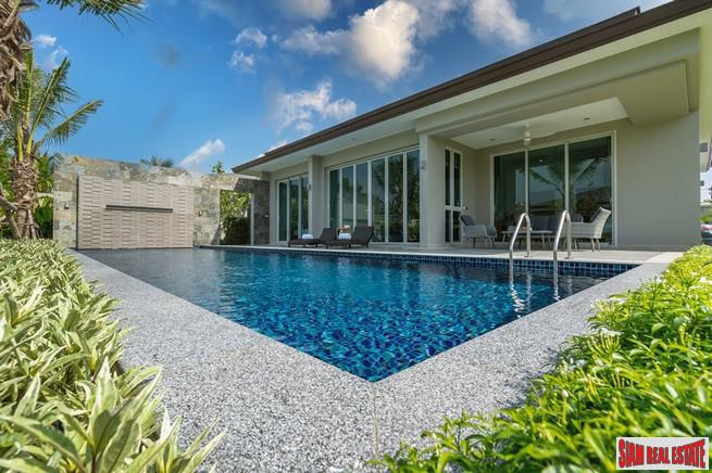 Stylish and Elegant Three Bedroom Pool Villa for Sale  Located in New Secure Layan Development