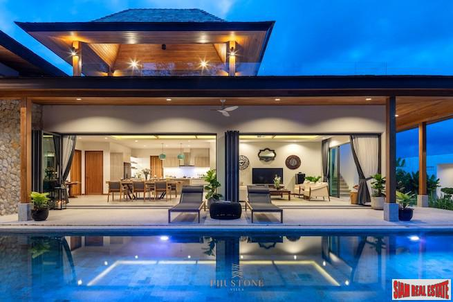 Phustone Villa | Professionally Decorated Four Bedroom Pool Villa with Rooftop Terrace for Sale in Cherng Talay