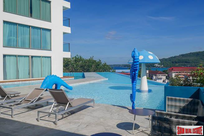 Oceana Kamala Resort | One Bedroom with Sea Views for Sale in a Family Friendly Condo