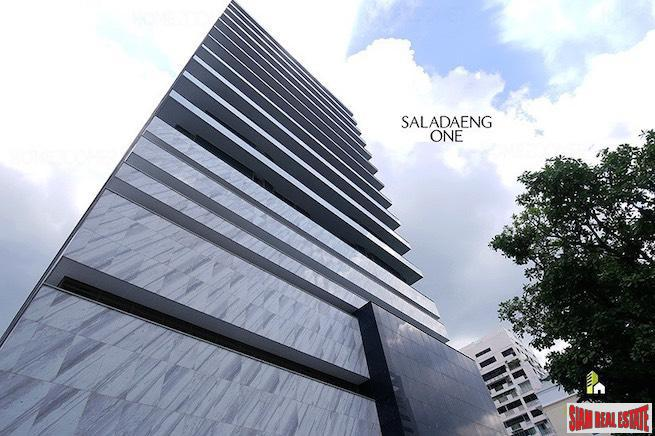 Saladaeng One | Luxury One Bedroom Corner Unit for Rent with Lumphini Park Views