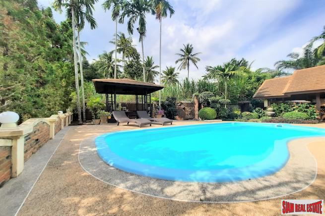 Spacious Two Storey Three Bedroom House with Private Pool and Gardens for Sale in Ao Nang