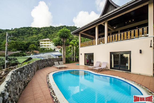 Impressive Five Bedroom Kata Seaview Pool Villa for Sale