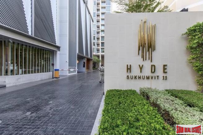 Hyde Sukhumvit 11 | Comfortable Two Bedroom Condo for Rent with Garden Views