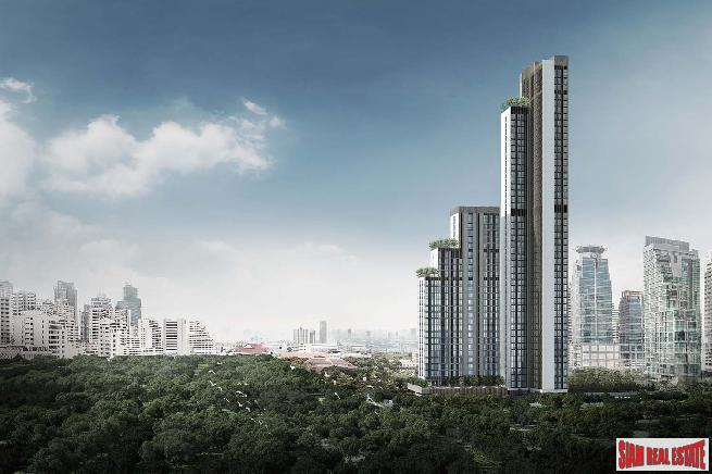 New High-Rise Nearing Completion at Sukhumvit 19, Central Asoke - Penthouse Units