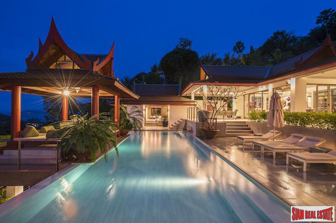 Ayara Surin | Panoramic Sea View Luxury Private Pool Villa for Sale in Surin Hills