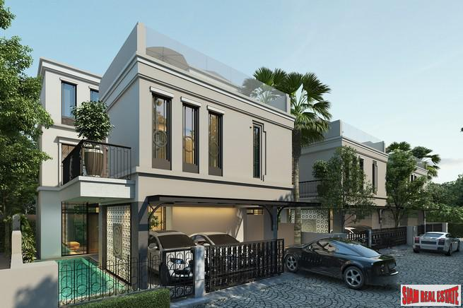 Boutique Estate of only 8 Luxury Homes with Private Pool at Phahon Yothin, near BTS,  Chatuchak Area