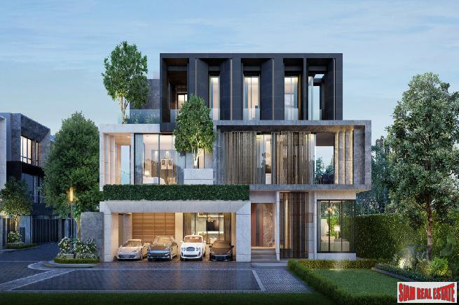 VIP Pre-Sale of New Exclusive Ultra Luxury Villas in Estate of only 14 Units by Leading Thai Developers at Bueng Kum, Nawamin - XL Villas