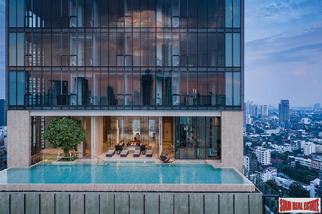 Newly Completed Ultra Luxury High-Rise at Sukhumvit 26, Phrom Phong - 2 Bed Units
