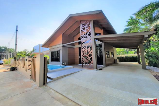 Contemporary Three Bedroom House with Roof Terrace & Pool for Sale in Ao Nang, Krabi