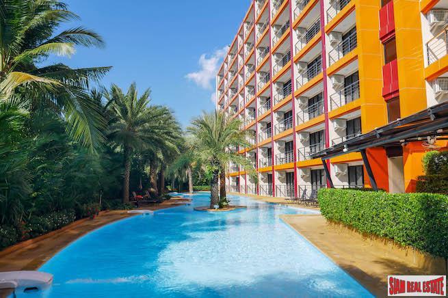 Mai Khao Beach Condotel | One Bedroom 7th Floor Corner Unit for Sale with Beach & Mountain Views